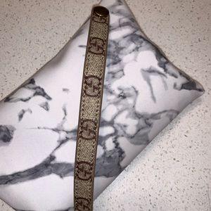 Authentic Gucci Repurposed Bracelet